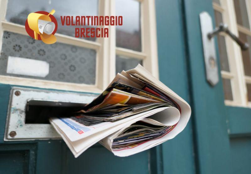 VOLANTINAGGIO BRESCIA offerta distribuzione volantini - promo volantinaggio certificato