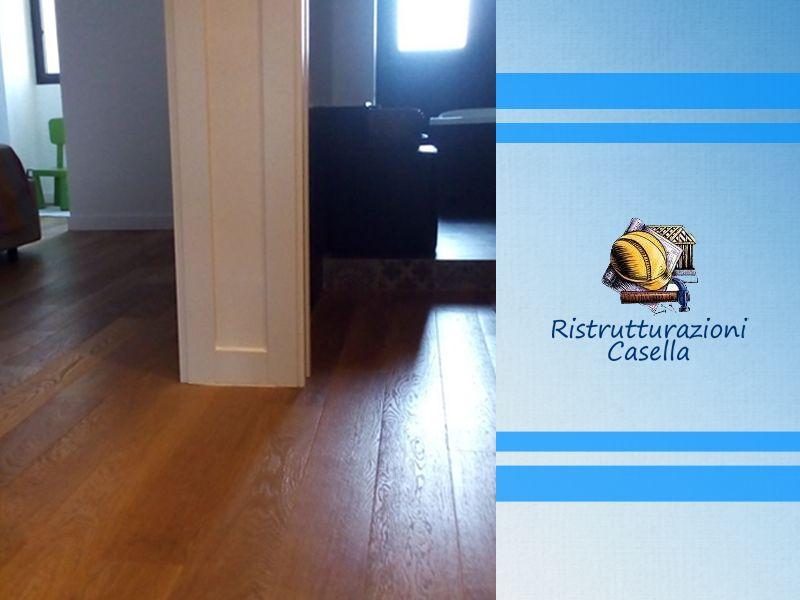 Posa in opera parquet e pavimentazioni speciali Ditta Andrea Casella