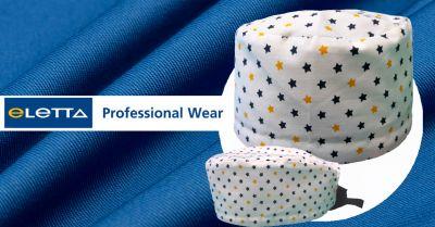offerta produzione cuffie chirurgiche a fantasia occasione vendita cuffiette berretto medico