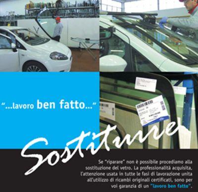 sostituzione vetro e sostituzione parabrezza auto e veicoli a vicenza e provincia offerta