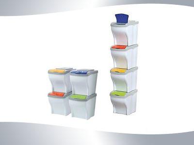 occasione contenitori raccolta differenziata pattumiera rifiuti i detergenti