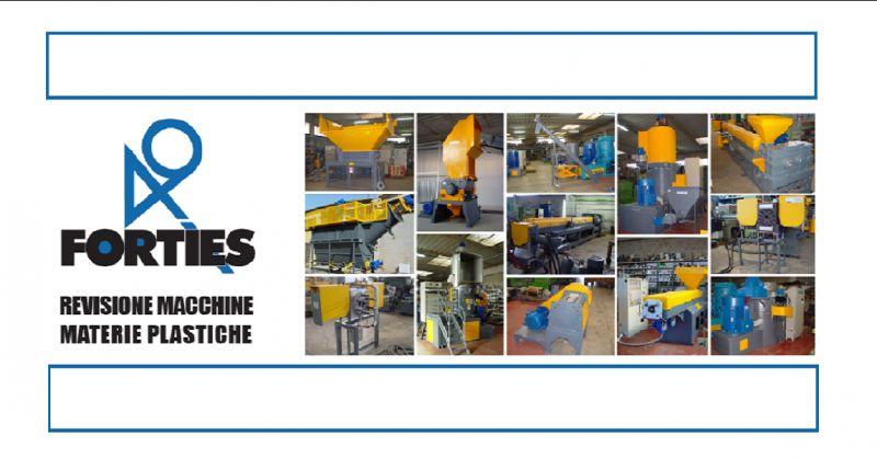 FORTIES SRL offerta revisione vendita macchine usate per lavorazione materie plastiche Italy