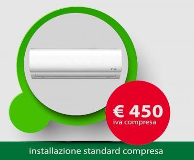 offerta installazione climatizzatore promozione impianto condizionamento elio sud