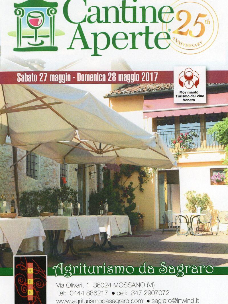 offerta agriturismo sagraro vicenza occasione vini degustazione promozione cantine aperte