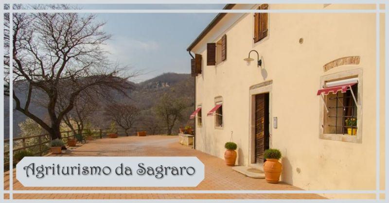 AGRITURISMO DA SAGRARO - Offerta appartamenti agriturismo dell'epoca Napoleonica Colli Berici