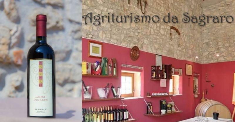 AGRITURISMO DA SAGRARO - Offerta vino produzione artigianele CABERNET SAUVIGNON dei colli Berici