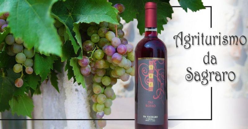 Offerta Produzione Vino TAI ROSSO Vicenza - Occasione Vendita Vino Rosso Fresco e Fruttato Vicenza