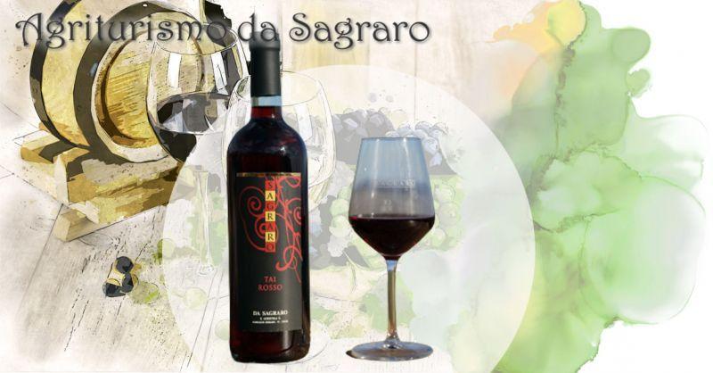 AGRITURISMO DA SAGRARO - Promozione vendita online miglior vino TAI ROSSO dei Colli Berici