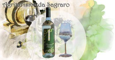 agriturismo da sagraro offerta vino bianco frizzante uve tai bianco e pinot bianco metodo charmat