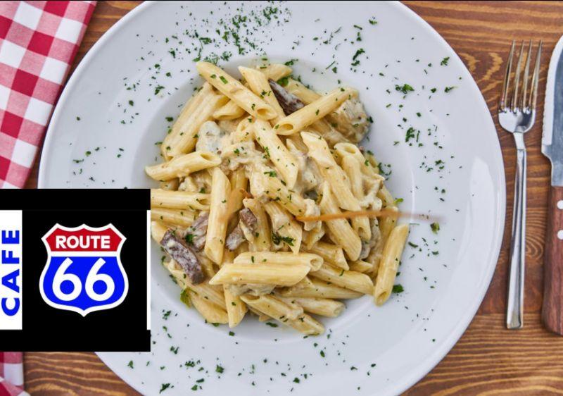 CAFE ROUTE 66 offerta pranzi di lavoro - promozione pranzo prezzo fisso paladina