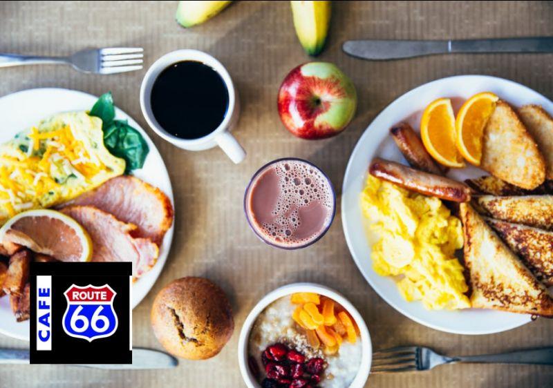 CAFE ROUTE 66 offerta colazioni salate- promozione colazione per perdere peso