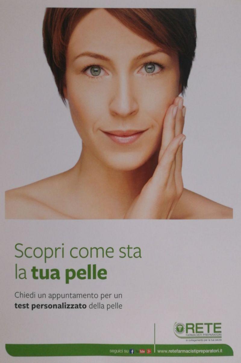 offerta test gratuito della pelle farmacia eredi chemello promozione salute della pelle