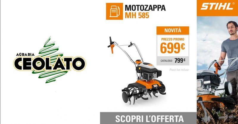 Offerta Vendita MH 585 motozappa STIHL Vicenza - Occasione Prodotti professionali per Giardino