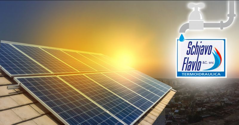 Occasione TERMOIDRAULCA SCHIAVO impianto solare termico Vicenza