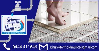 offerta impianti di riscaldamento a pavimento vicenza occasione installare riscaldamento a pavimento