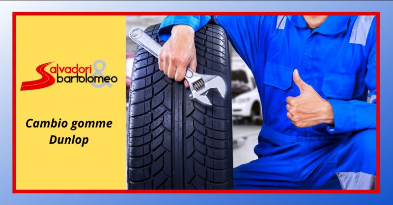 SALVADORI E BARTOLOMEO - Offerta montaggio pneumatici dunlop anzio