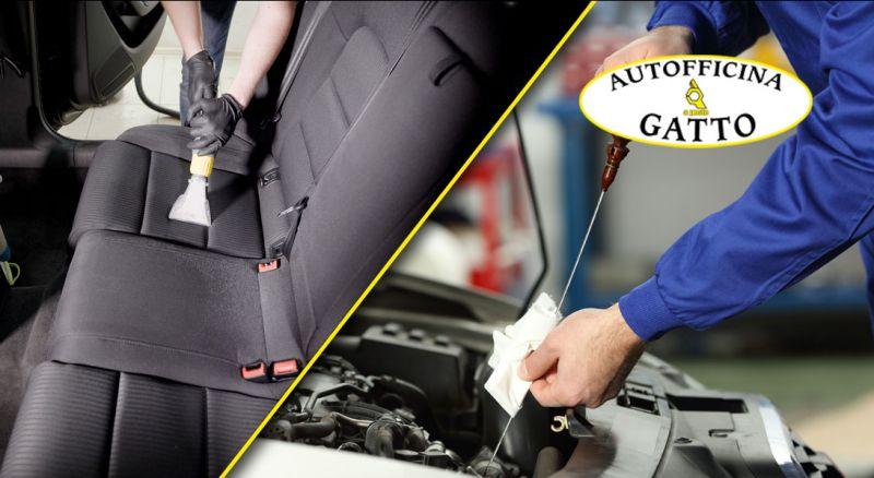 OFFERTA sanificazione con check up auto lamezia terme - OFFERTA igienizzazione e sanificazione auto CATANZARO