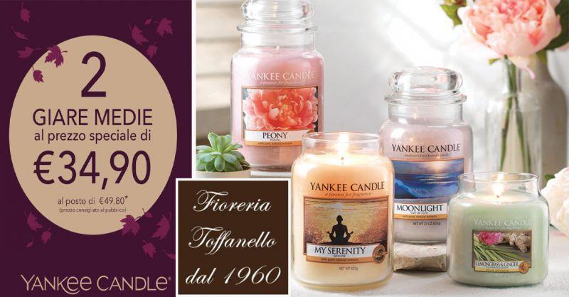 offerta sconti su candele Yankee Candle Vicenza -... - SiHappy d51db60a5f88
