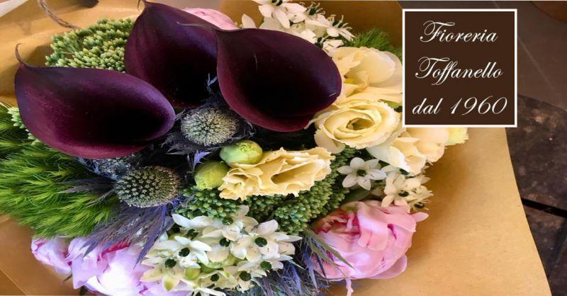 offerta creazione bouquet per sposa Vicenza - occasione allestimenti floreali Vicenza