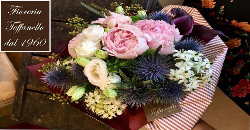 offerta mazzo di fiori per anniversario Vicenza - occasione composizioni floreali Vicenza