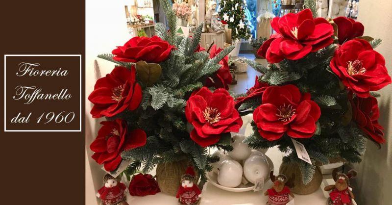 Fioreria Toffanello offerta decorazioni natalizie Vicenza - occasione idee regalo natale