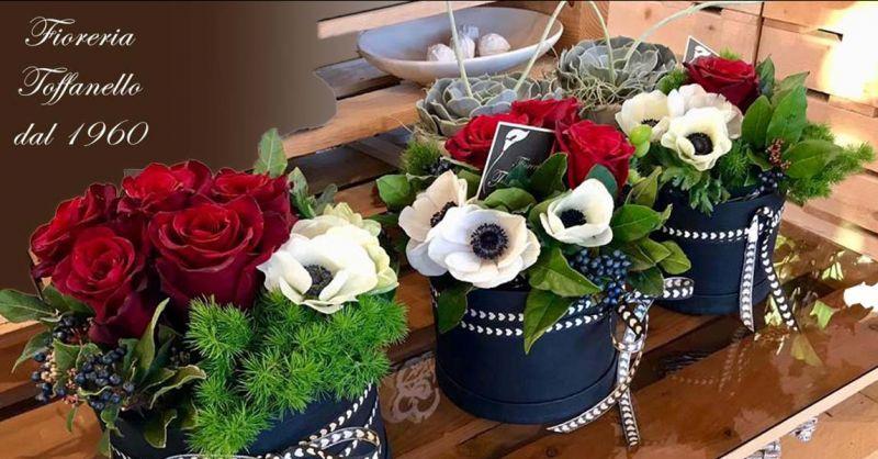 Offerta realizzazione Cappelliera di fiori freschi Vicenza - Occasione Fiori a domicilio