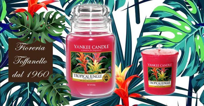Promozione candele Yankee in sconto - offerta fragranze Yankee tropicaljungle Vicenza