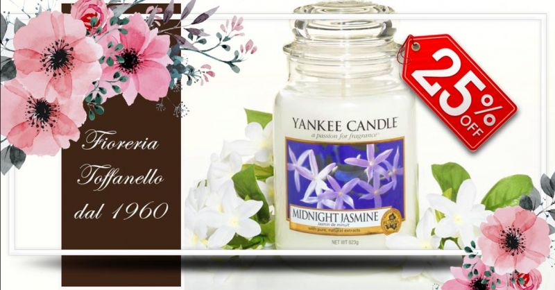 offerta Candele Yankee edizione limitata Vicenza - occasione Yankee Midnight Jasmine Sconto