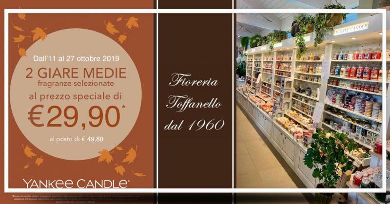 FIORERIA TOFFANELLO  Offerta promo yankee Candle Vicenza - Occasione saldi Candele yankee