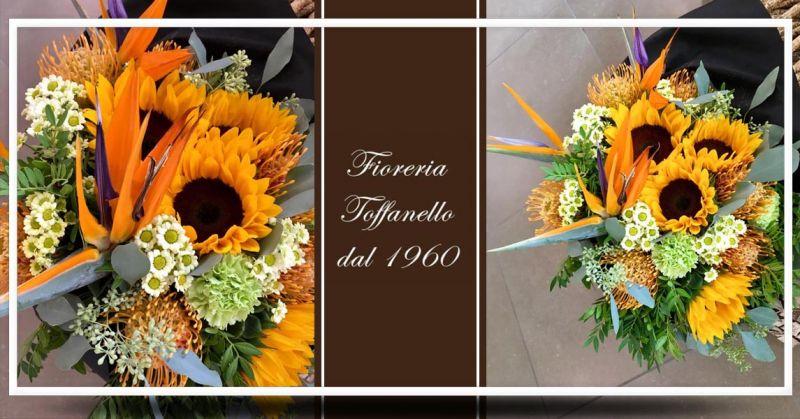Offerta realizzazione bouquet sposa autunno Vicenza - Occasione composizioni autunnali mazzi di fiori Vicenza