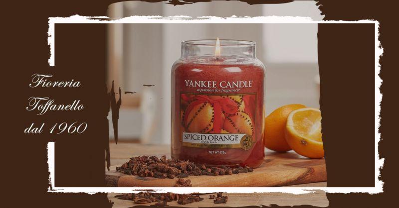 offerta Candele Yankee edizione limitata Vicenza - occasione Yankee Spiced Orange Sconto