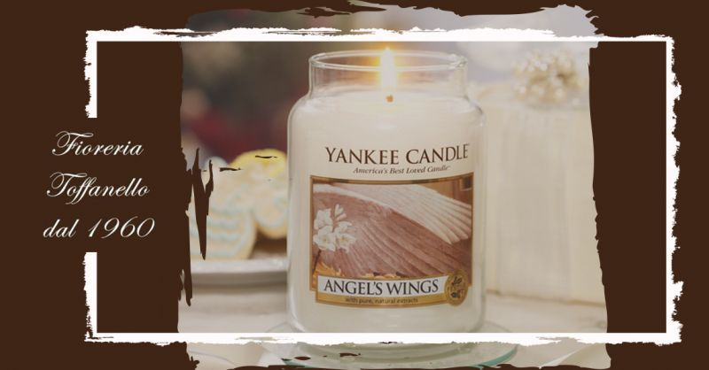 Promozione candele Yankee in sconto Vicenza - Offerta fragranze Yankee Angel's Wings Vicenza