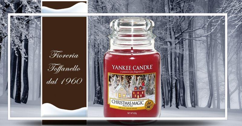 Fioreria Toffanello Promozione candele Yankee in sconto - Offerta fragranze Yankee natalizie