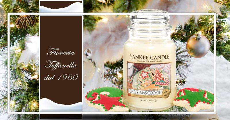 Occasione candele Yankee christmas magic in sconto - Offerta fragranze Yankee christmas cookie
