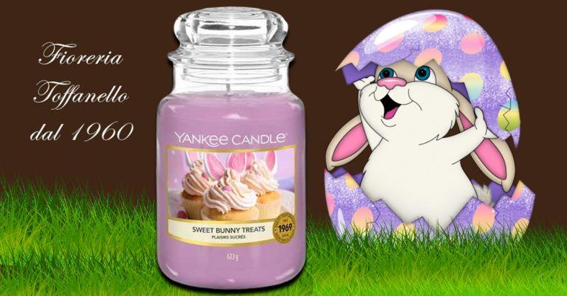 Offerta Sweet Bunny Treats Candele in giara grande di Yankee Candle Vicenza