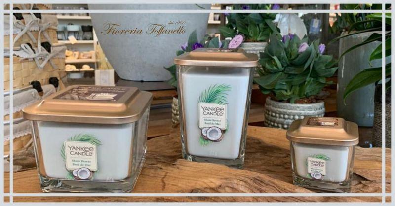 FIORERIA TOFFANELLO - Offerta vendita Fragranza Yankee candle al miglior prezzo a Vicenza