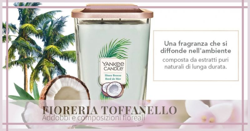 FIORERIA TOFFANELLO Offerta vendita online Yankee Candle Elevation Collection con Platform Lid