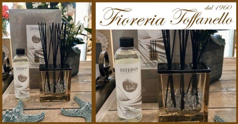 FIORERIA TOFFANELLO - Promozione vendita online profumo ambiente ESTEBAN RÉVE BLANC