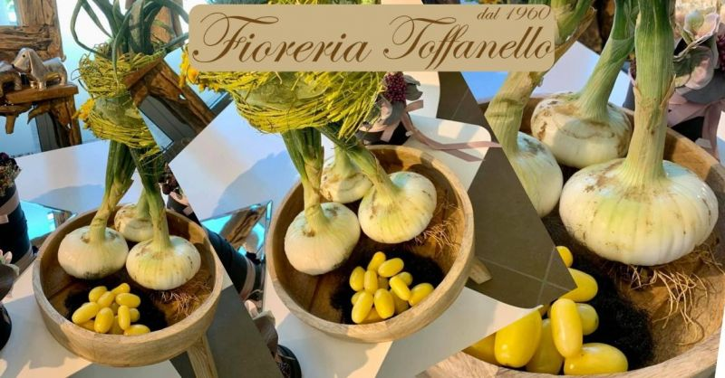 FIORERIA TOFFANELLO - Occasione vendita centrotavola ed oggettistica da regalo a Nanto Vicenza