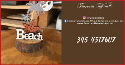 fioreria toffanello offerta vendita online articolo regalo segnaposto da tavolo beach marker