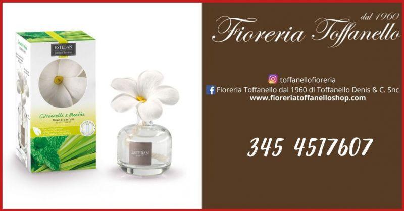 FIORERIA TOFFANELLO - OFFERTA VENDITA ONLINE DIFUSORE FIORE 75ML CITRONELLE & MENTE ESTEBAN PARIS