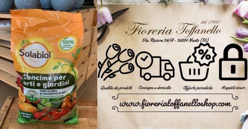FIORERIA TOFFANELLO - OFFERTA Concime Solabiol biologico granulare 100% Natural Booster