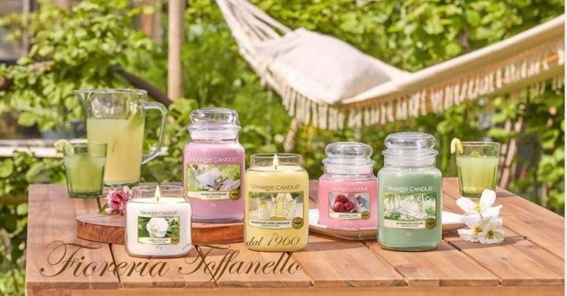 FIORERIA TOFFANELLO - Occasione vendita online nuove fragranze candele yankeecandle