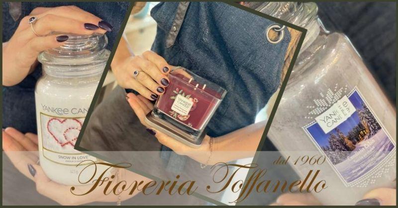 FIORERIA TOFFANELLO - Promozione migliori candele profumate YANKEE CANDLE vendita online