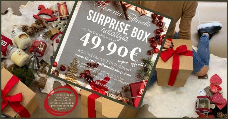 FIORERIA TOFFANELLO - Offerta idee regalo box natalizio mistery box vemdita online