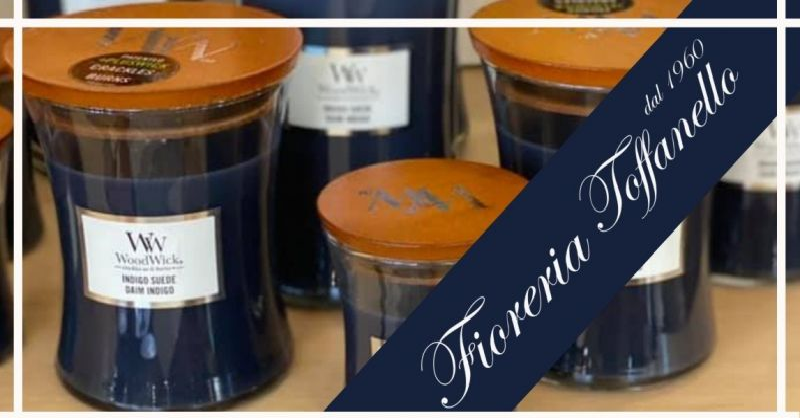FIORERIA TOFFANELLO - Occasione nuove fragranze candele profumate WoodWick Candles