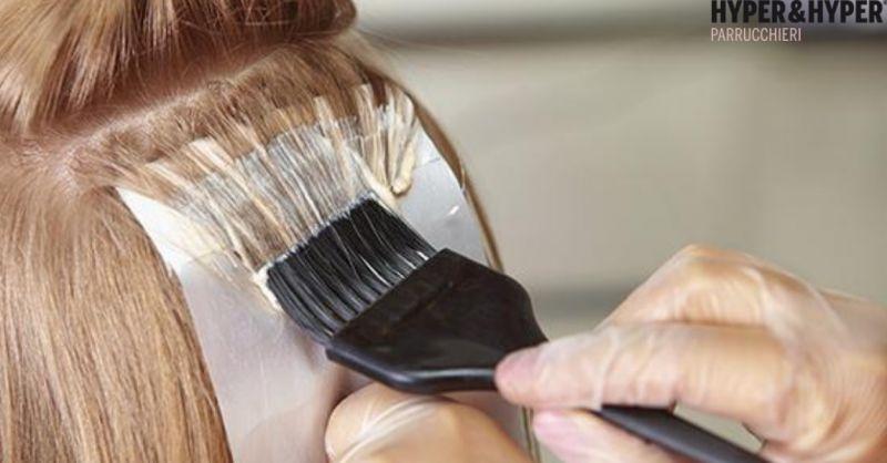 Parrucchieri Hyper & Hyper offerta cura dei capelli - occasione colpi di sole e trattamenti