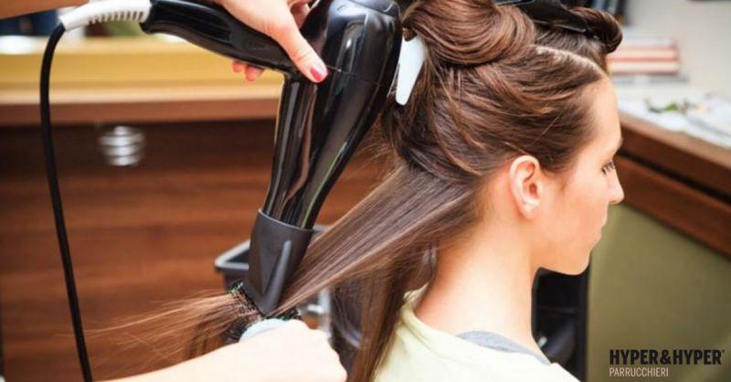 Parrucchieri Hyper & Hyper occasione piega donna - offerta trattamenti e cura dei capelli