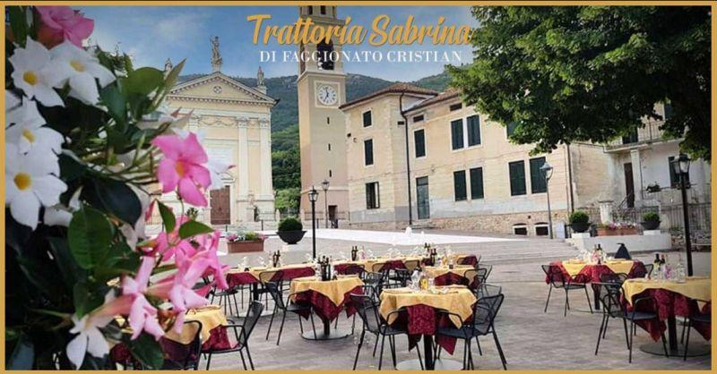 TRATTORIA SABRINA - Offerta specialità tipiche Ristorante a gestione familiare a Villaga