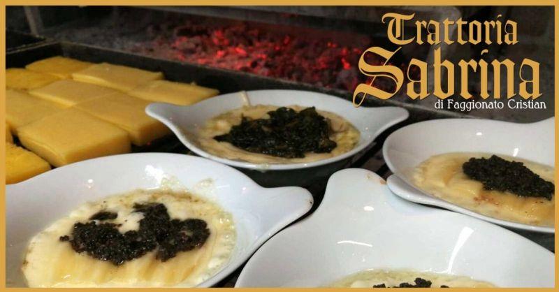 Trattoria Sabrina di Villaga - Offerta ristorante provincia Vicenza cucina specialità vicentine